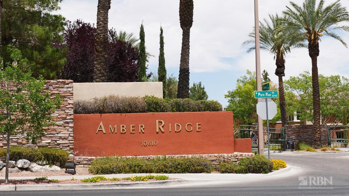 Amber Ridge Condos in The Arbors, Summerlin, NV
