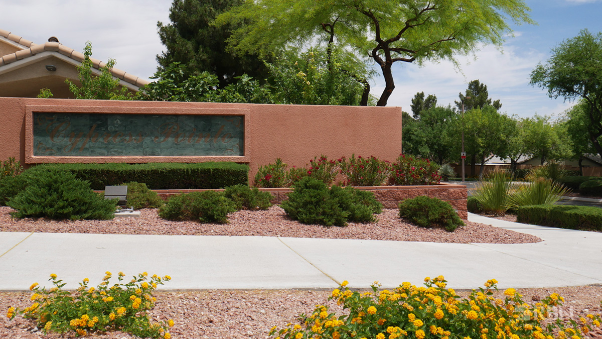 Cypress Pointe in The Arbors in Summerlin, NV