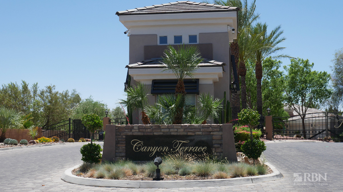 Canyon Terrace in The Canyons at Summerlin, Las Vegas, NV