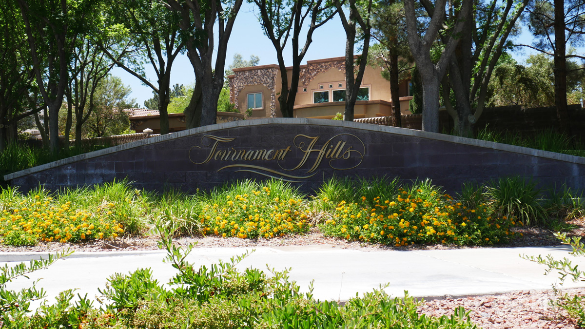 Tournament Hills in Summerlin, Las Vegas