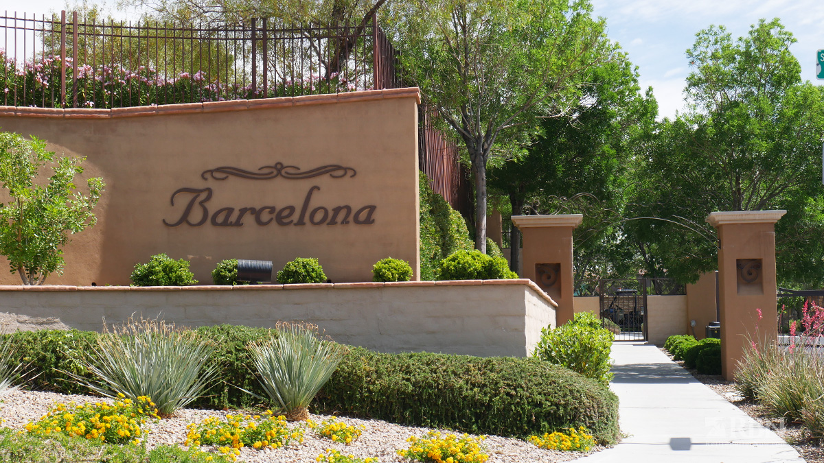 Barcelona at The Paseos in Summerlin, NV