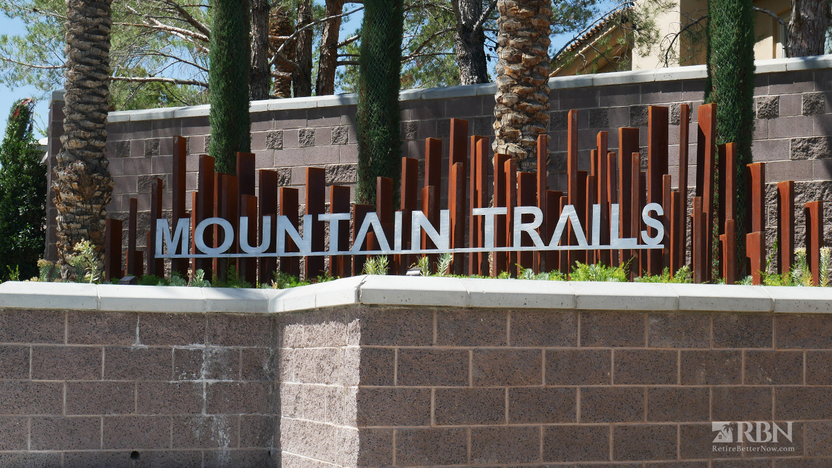 Mountain Trails in The Trails at Summerlin, Las Vegas, NV