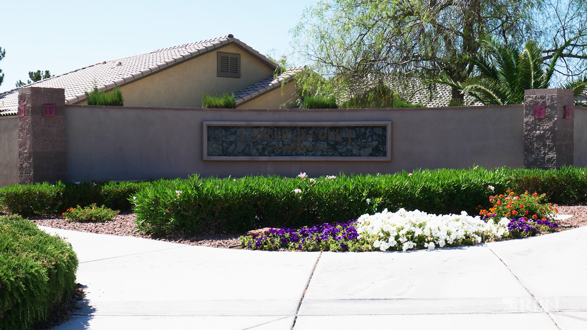 Cambridge Court in The Willows at Summerlin, Las Vegas, NV