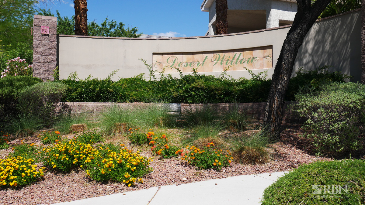 Desert Willow in The Willows at Summerlin, Las Vegas, NV