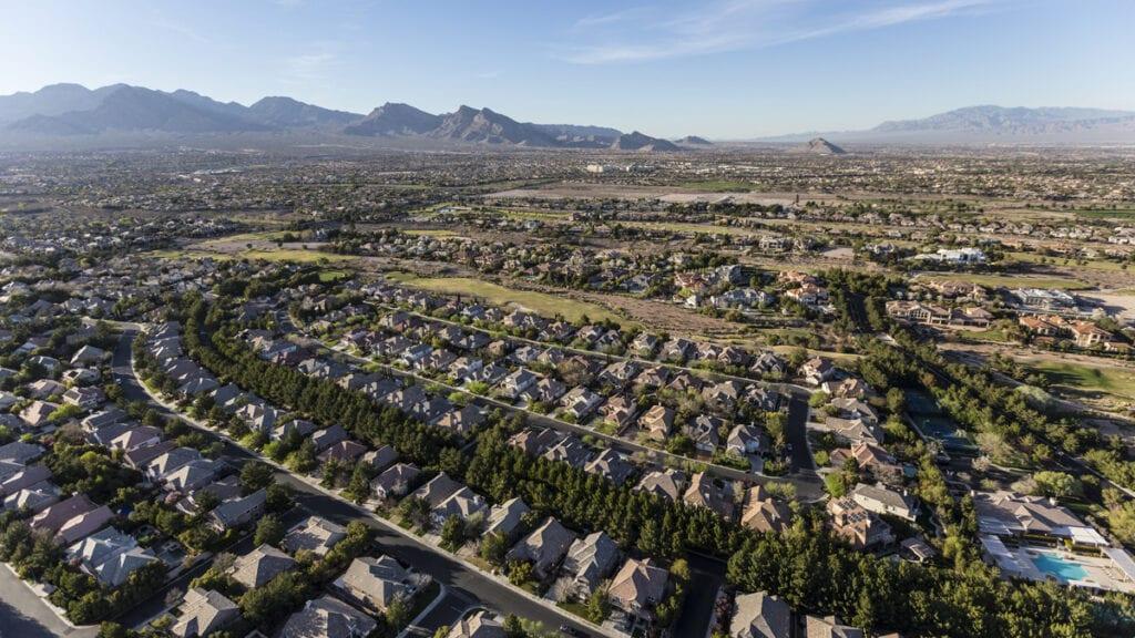 Living in Las Vegas Suburbs