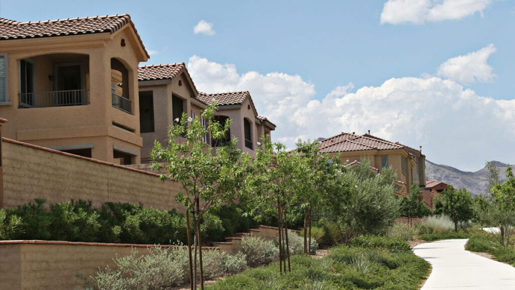 Townhomes in Summerlin, NV