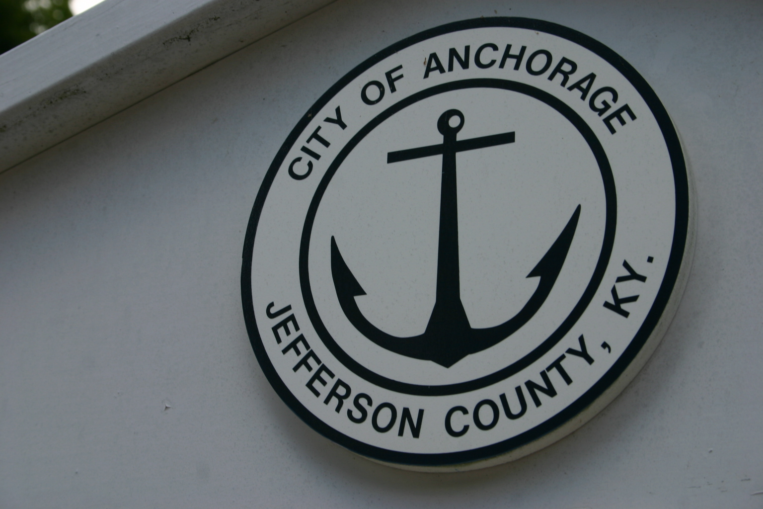 Anchorage Sign