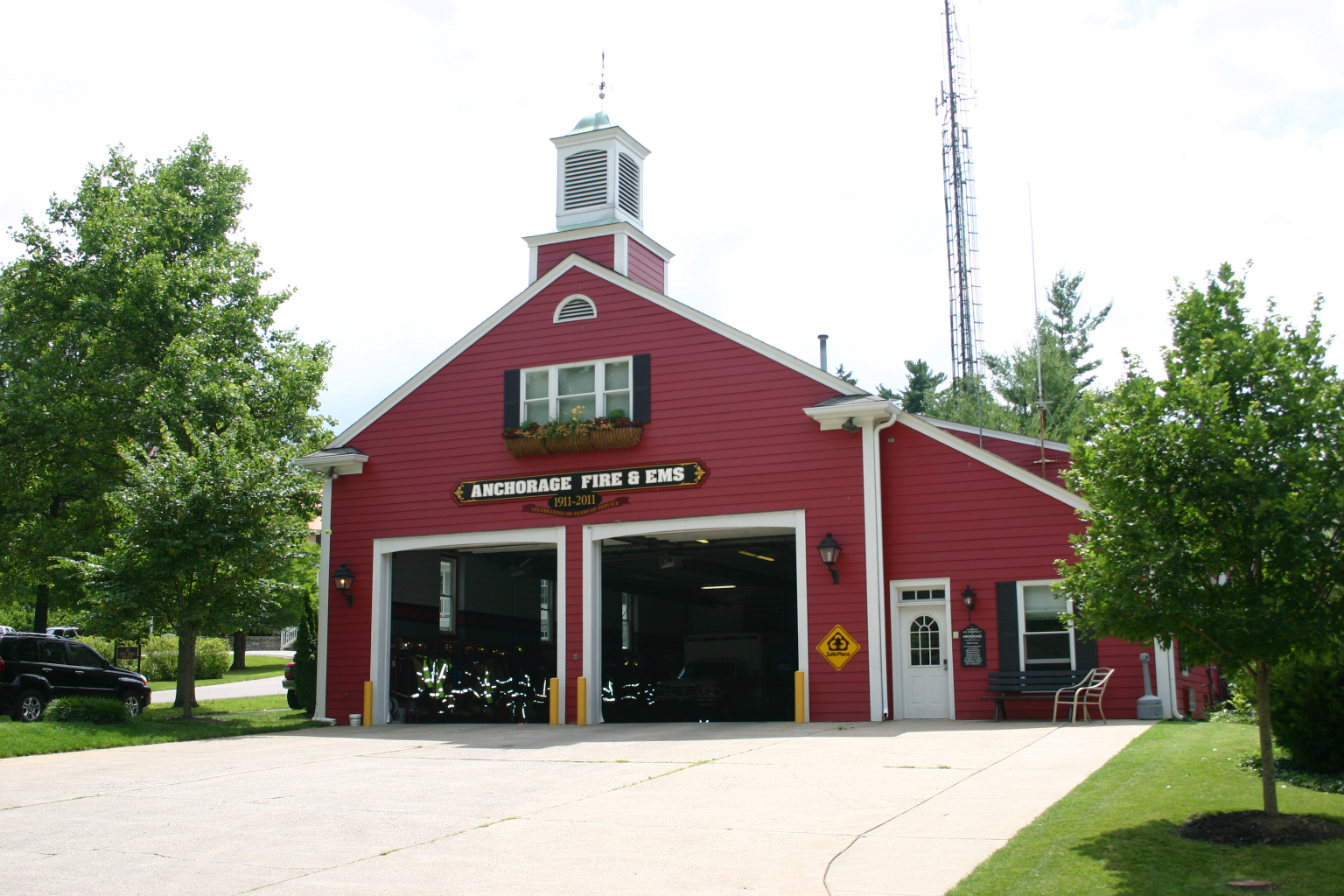 Anchorage KY fire station