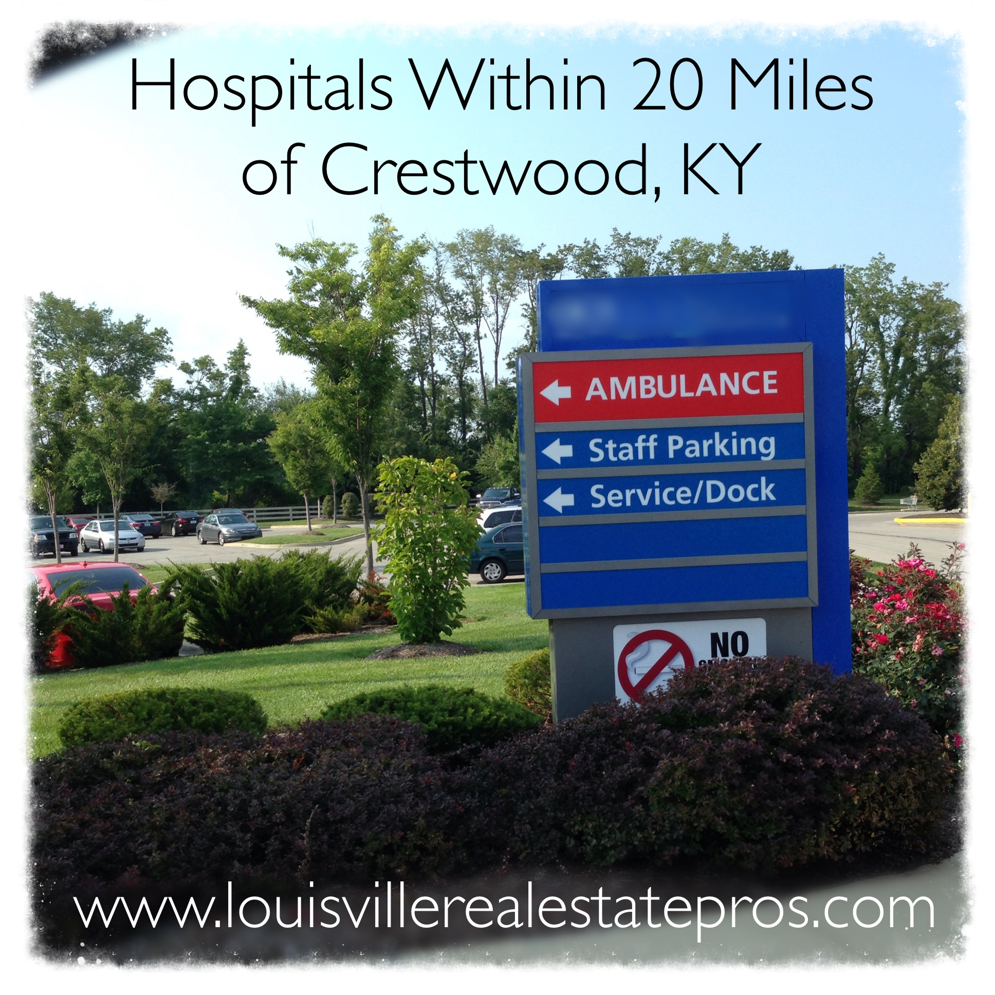 Hospitals Within 20 Miles of Crestwood, KY
