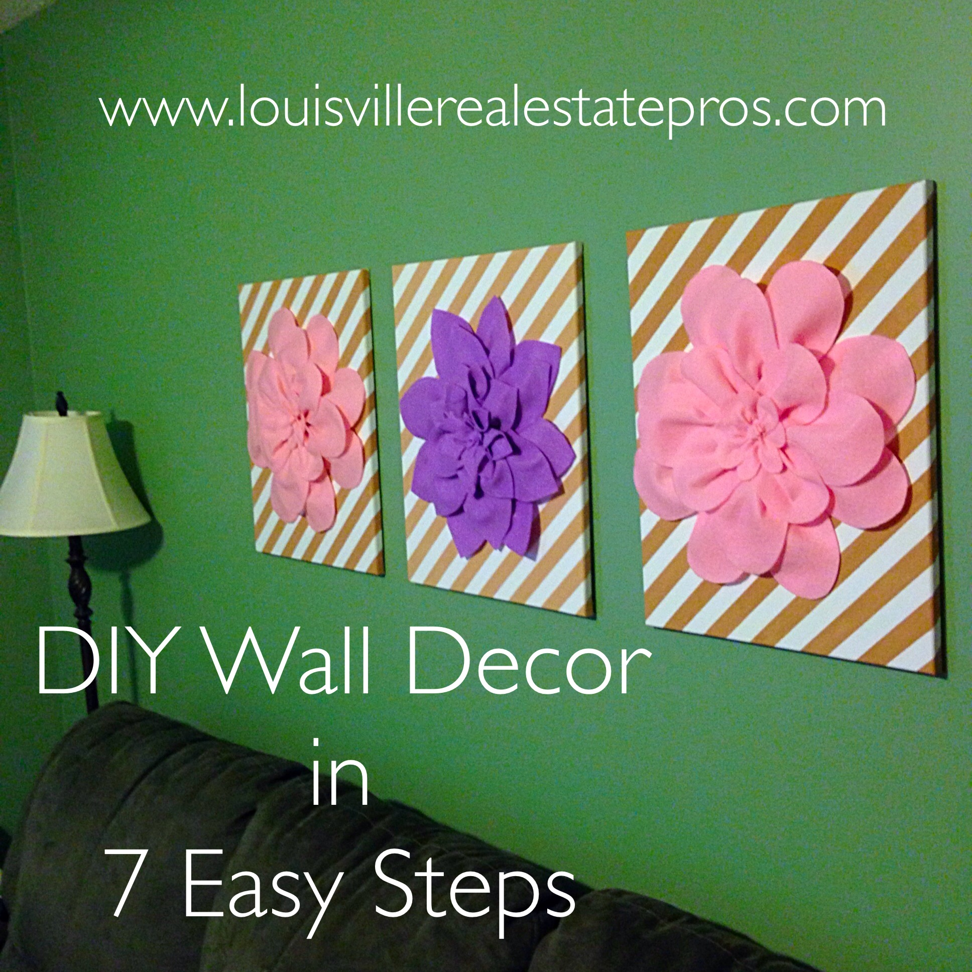 DIY Wall Decor in 7 Easy Steps