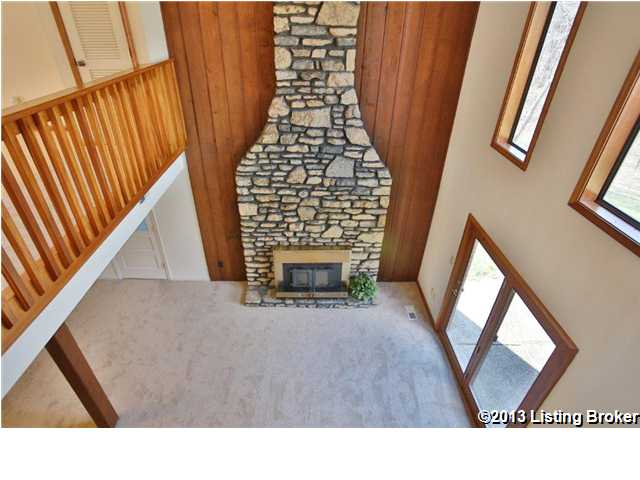 1071 Wood Valley Lane fireplace