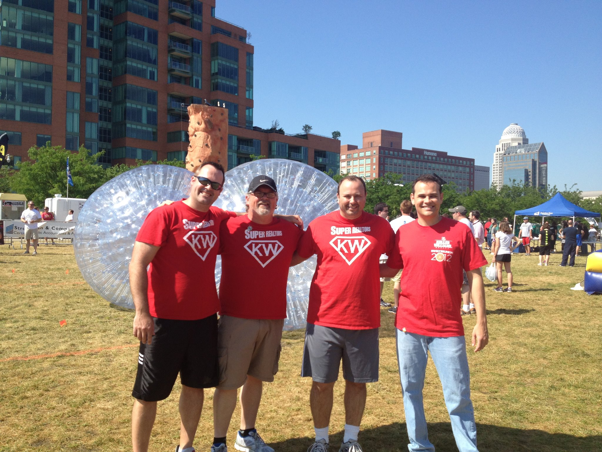 Jason and the KW Team at Battle of the Bounce