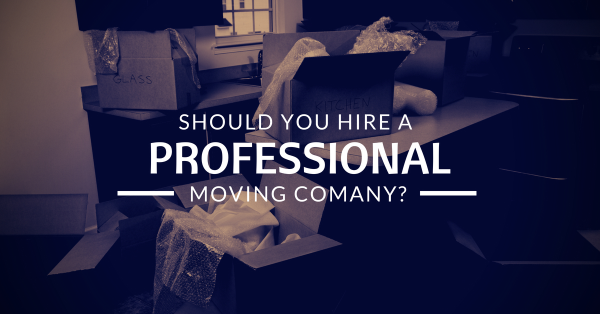 should you hire a professional moving company?
