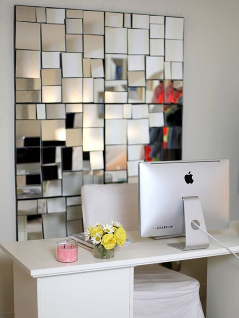 home office mirror