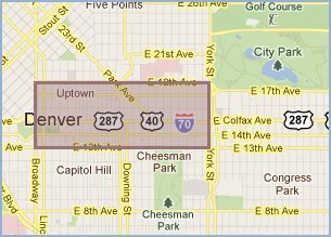 Homes For Sale in Uptown Denver