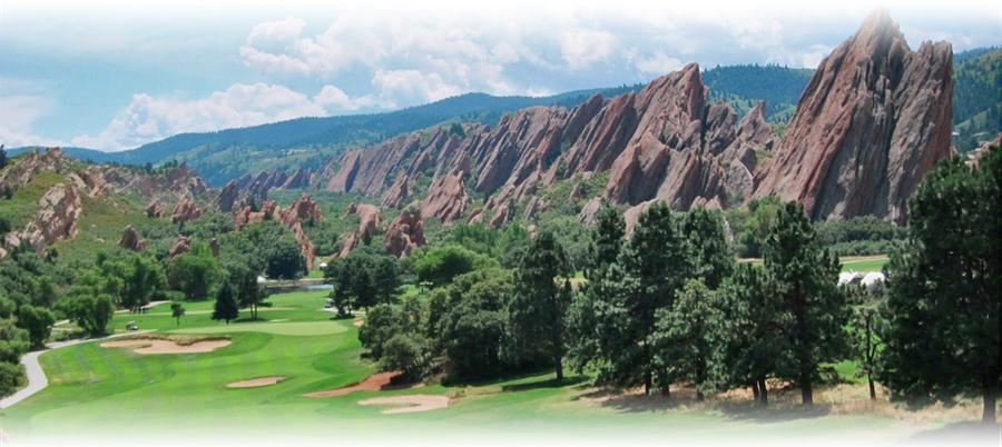 Arrowhead golf course in Ken Caryl Ranch