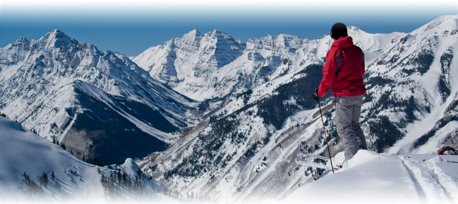 Ready to drop in on Colorado ski country