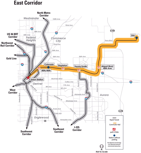 RTD FasTracks East Corridor