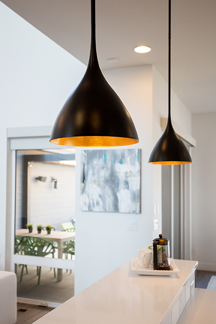 Lighting is an important component of setting the mood for a home.