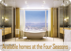 Available real estate at the Four Seasons
