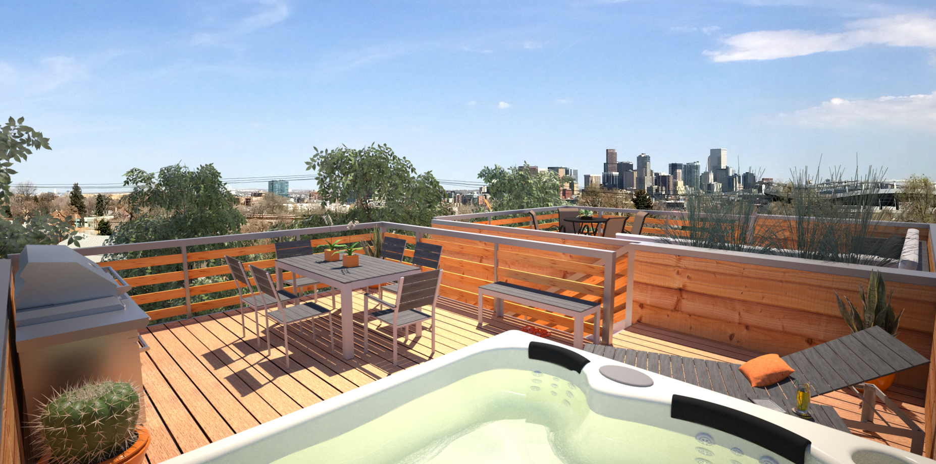 Osage Place Roof Deck
