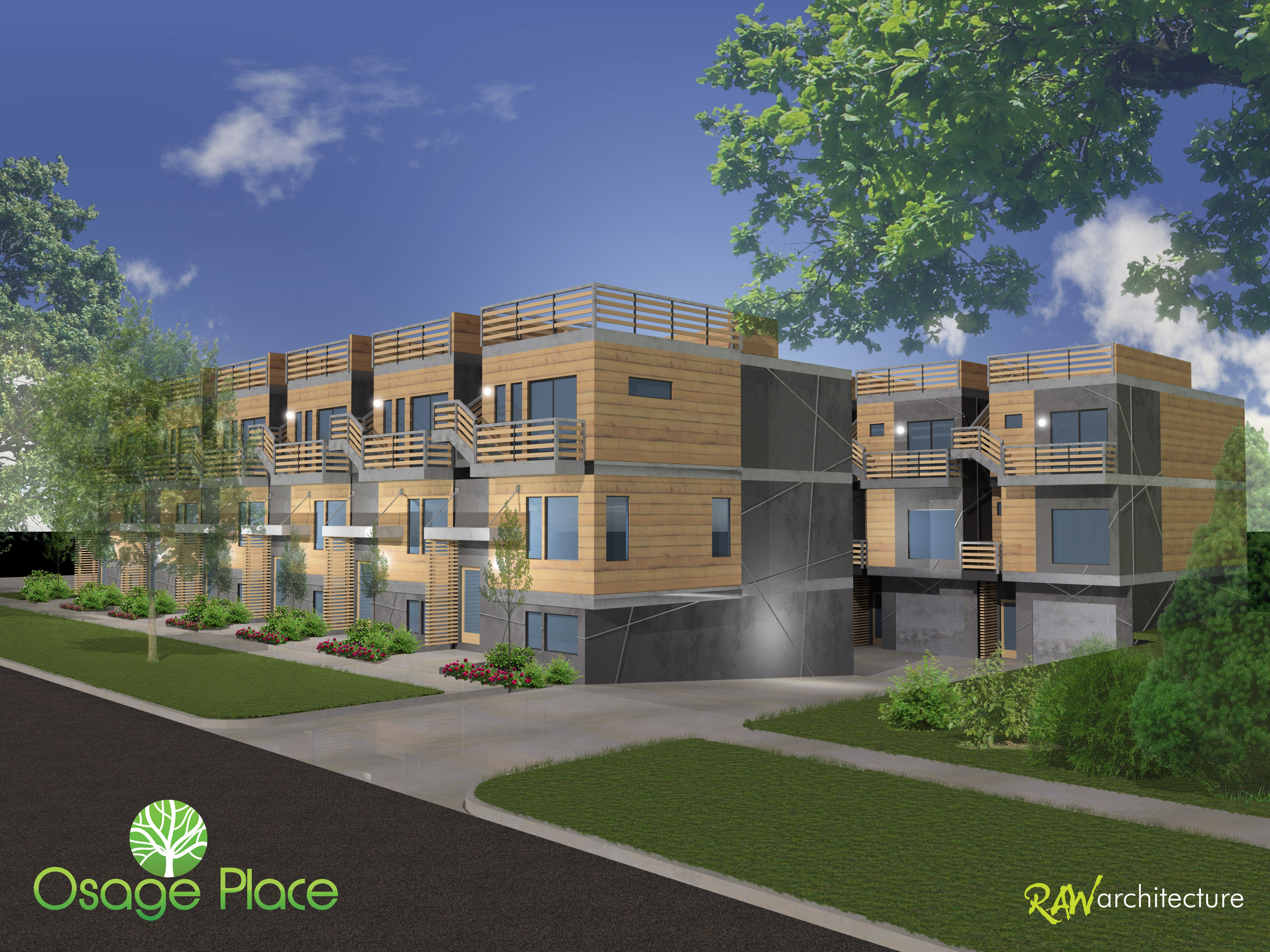 Osage Place Rendering