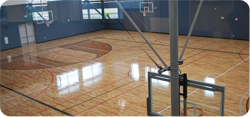 Central Park Rec Center Basketball Courts