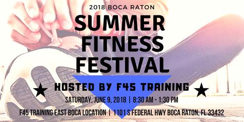 2018 Boca Raton Summer Fitness Festival