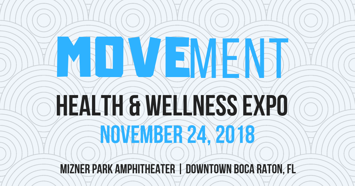 MOVEment Health & Wellness Expo Event Flyer