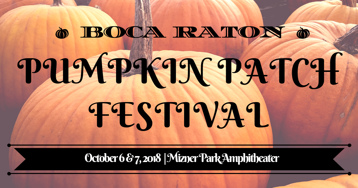 Boca Raton Pumpkin Patch Festival