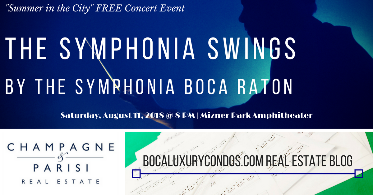 The Symphonia Swings Free Concert Event