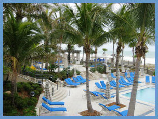 Resort Pool at Lido Key Ritz Carlton