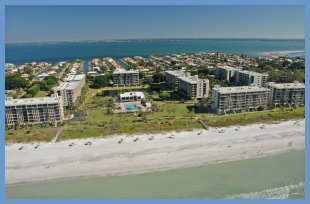 Beach Front Condominiums on FL West Coast