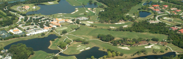 Aerial Lakewood Ranch Country Club