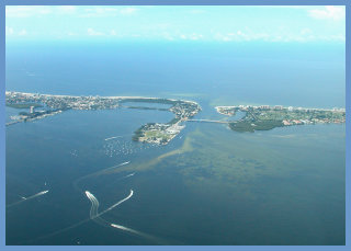 Aerial view of Lido Shores