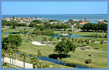 Longboat Key Golf Course view