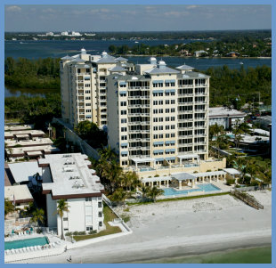 Luxury beach condos on Lido Key