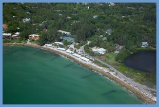Coastal community on Siesta Key, FL