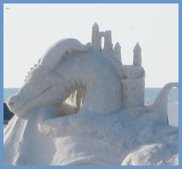 Sand Sculpture on Siesta Key