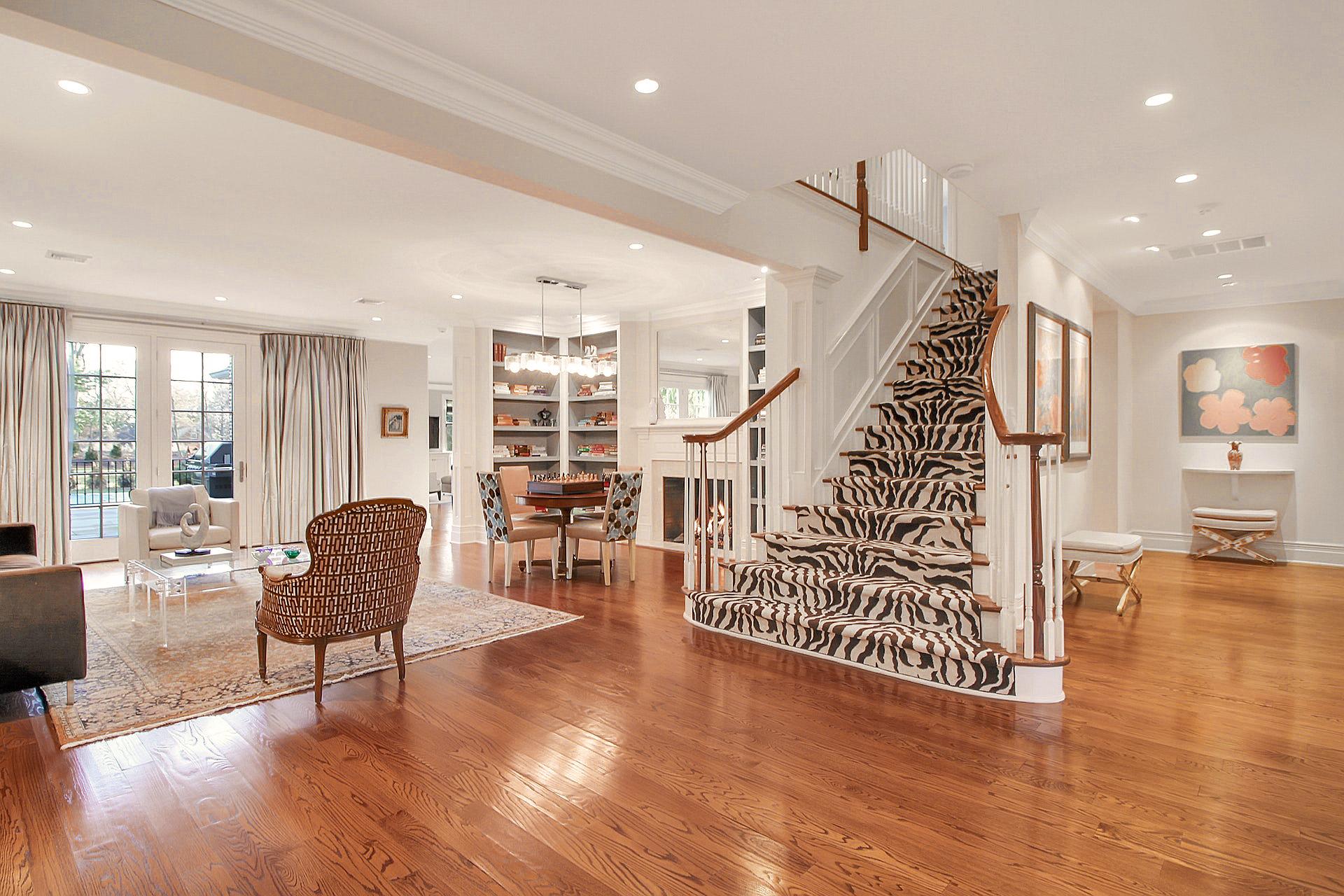 100 Stewart Road Living Room