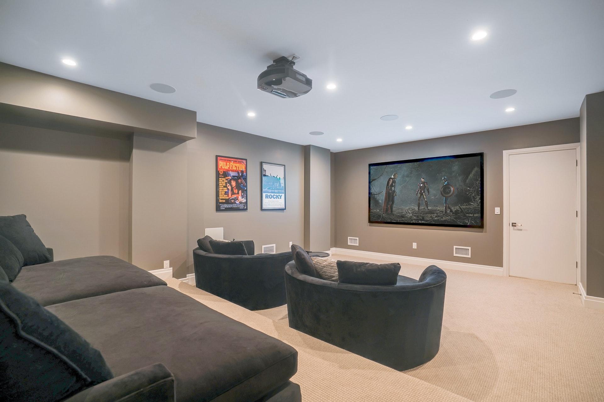 171 Highland Avenue Media Room