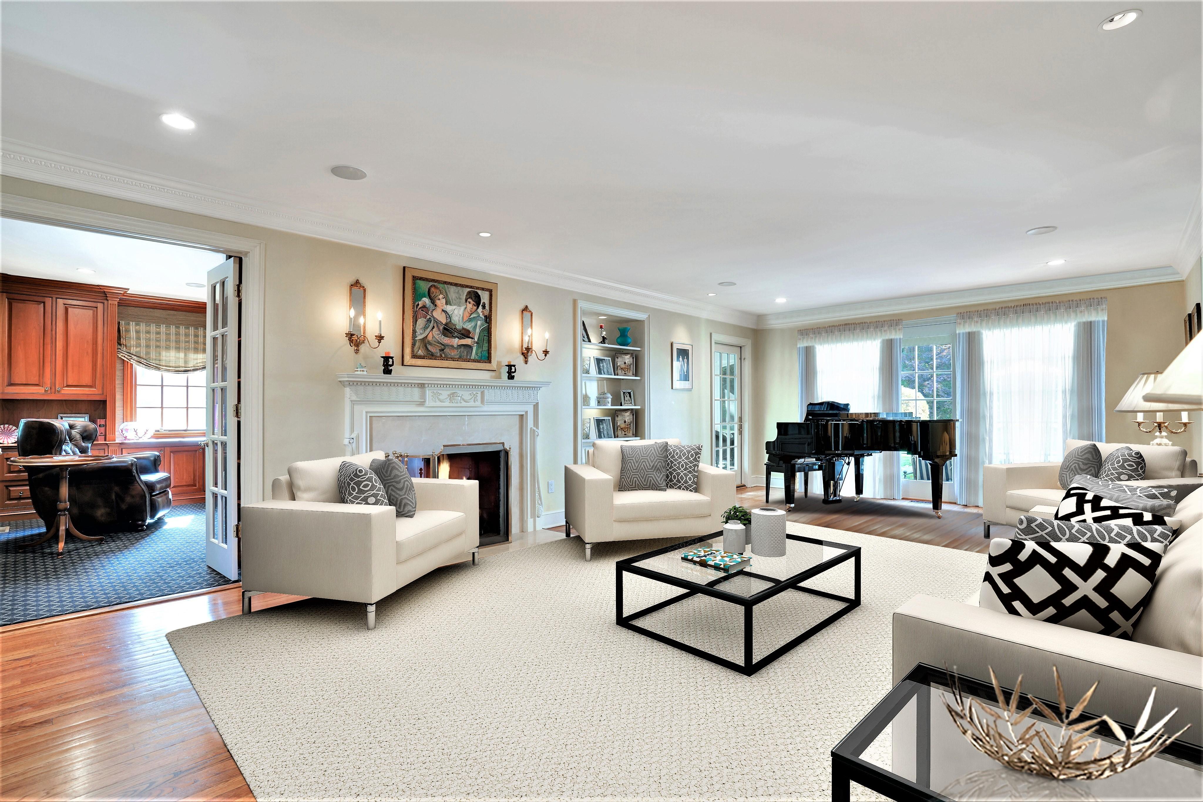 195 Highland Avenue - Living Room