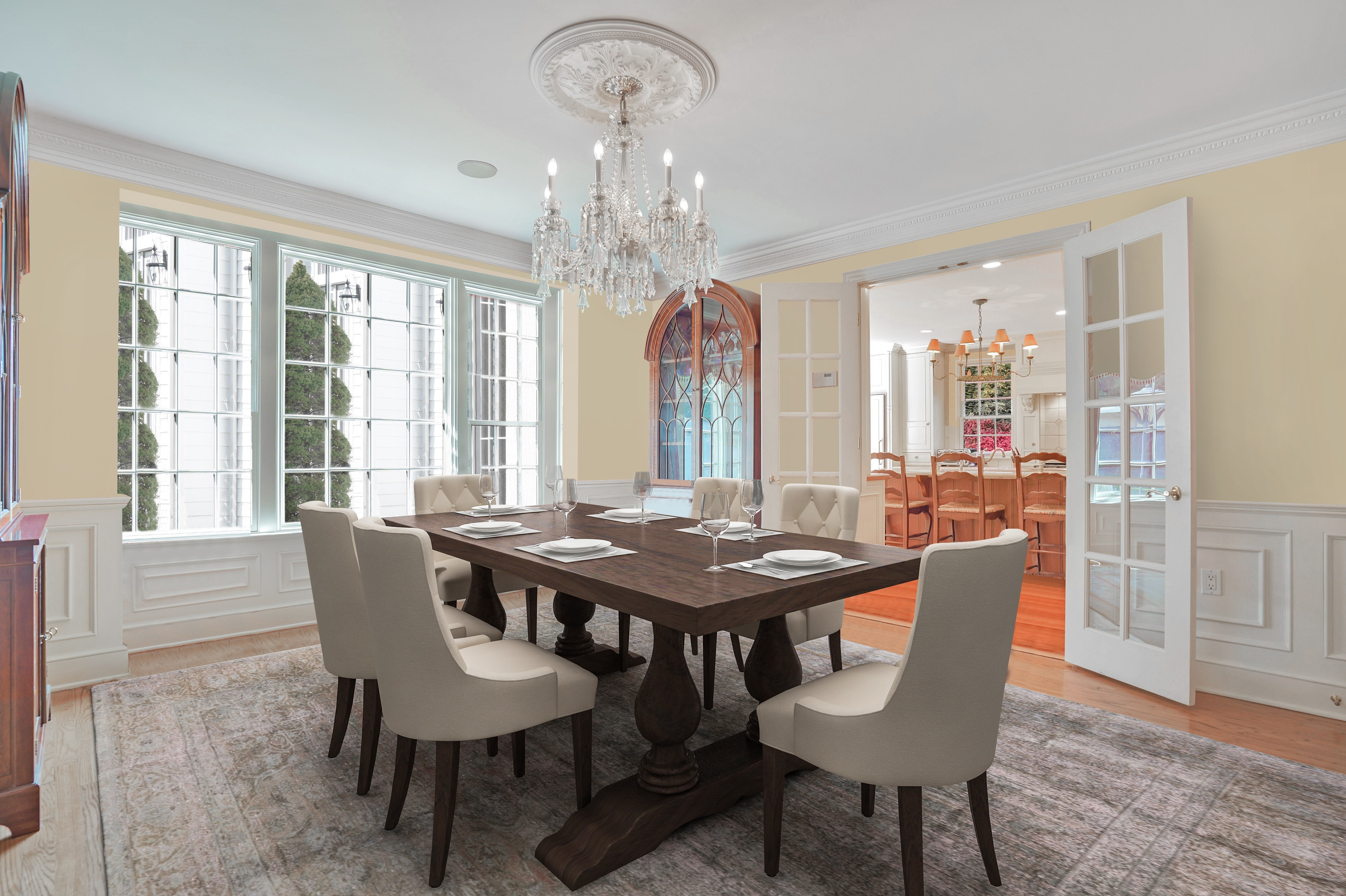 195 Highland Avenue Dining Room