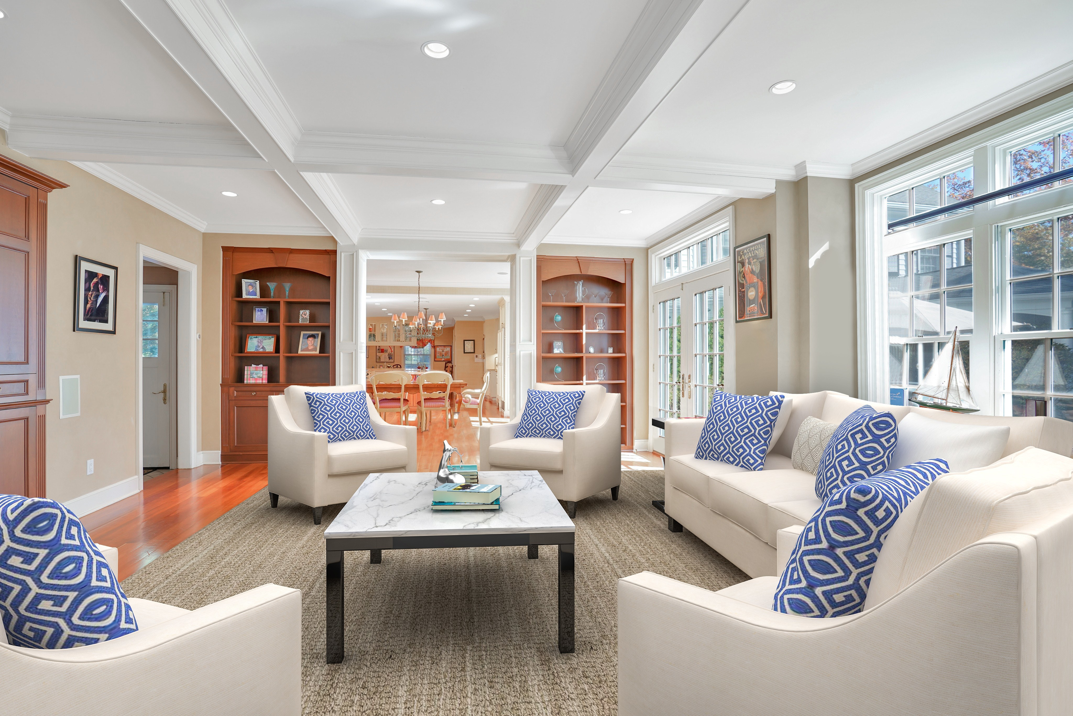 195 Highland Avenue Family Room