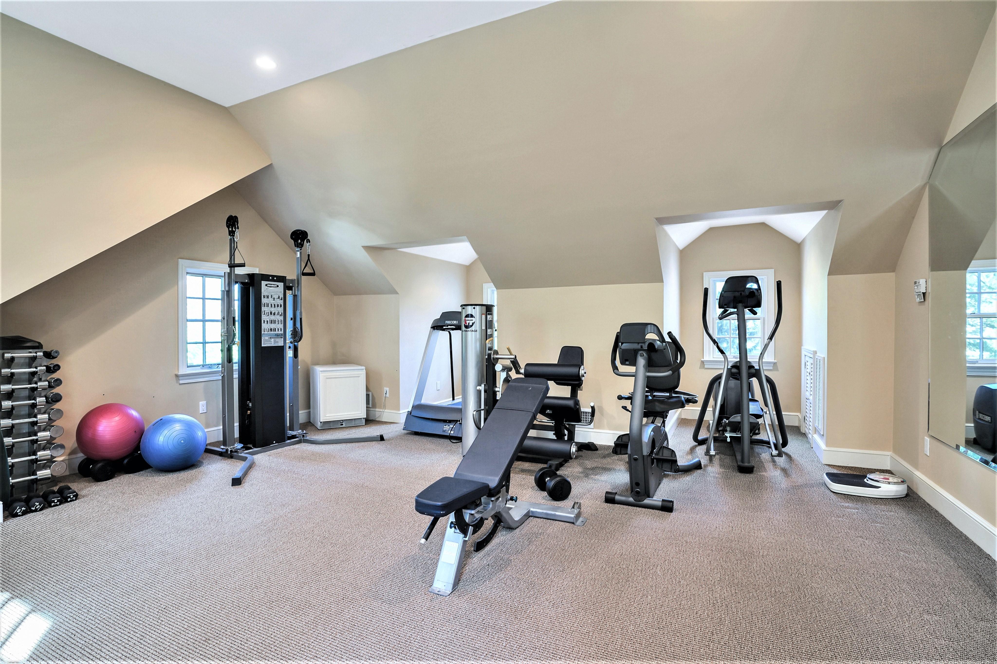 195 Highland Avenue Exercise Room