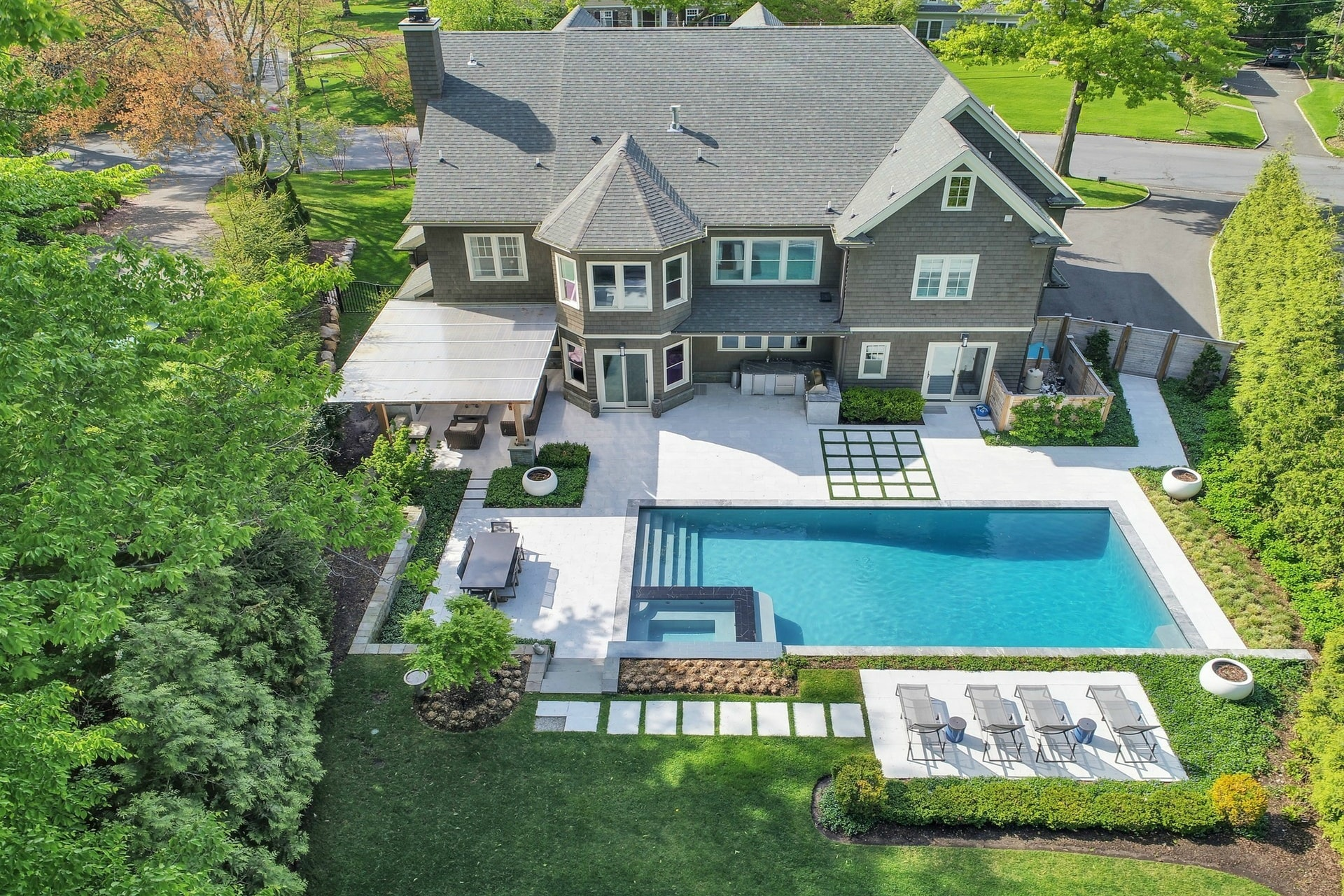 258 Long Hill Drive Aerial