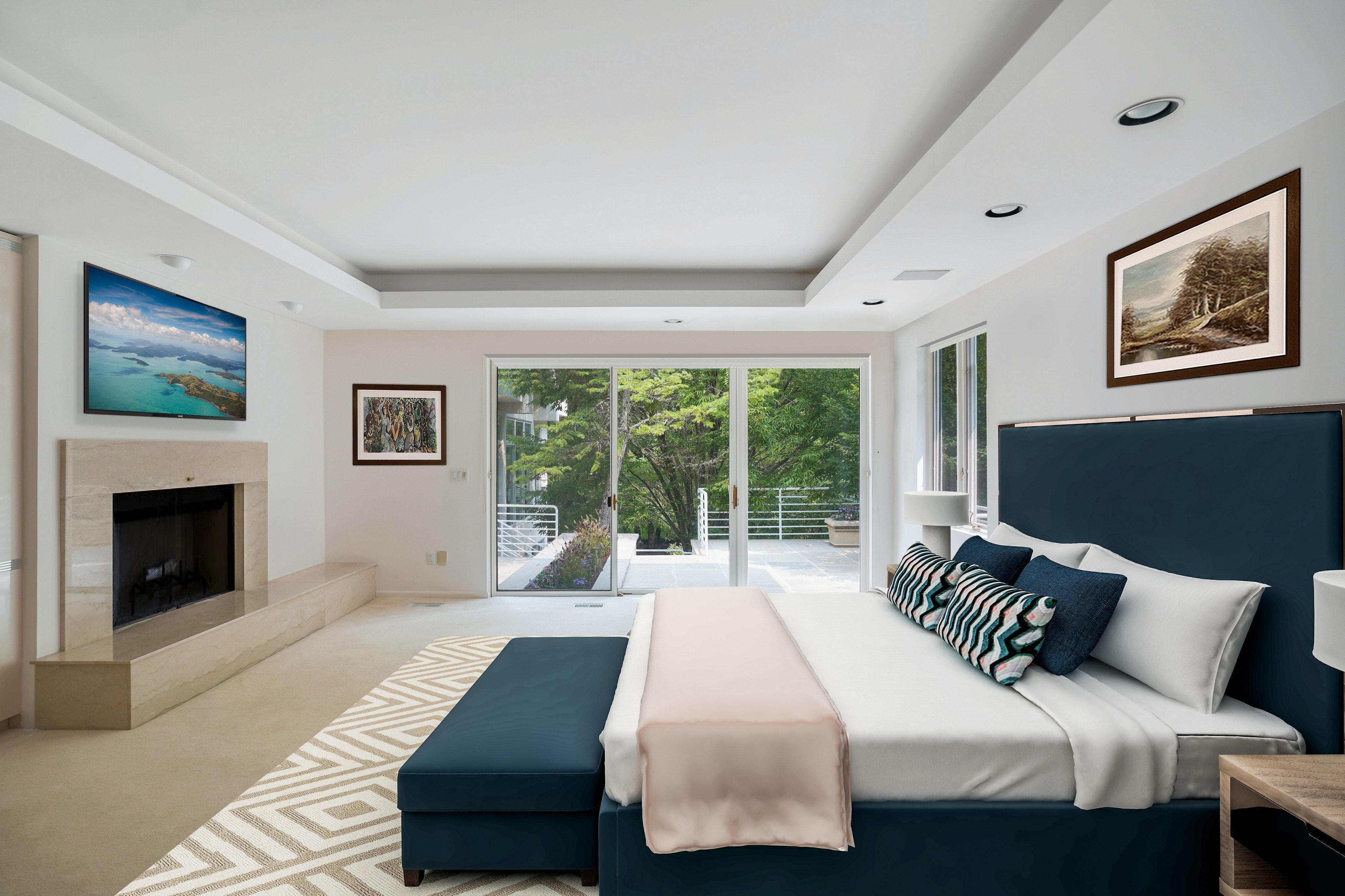 261 Hartshorn Drive Master Bedroom