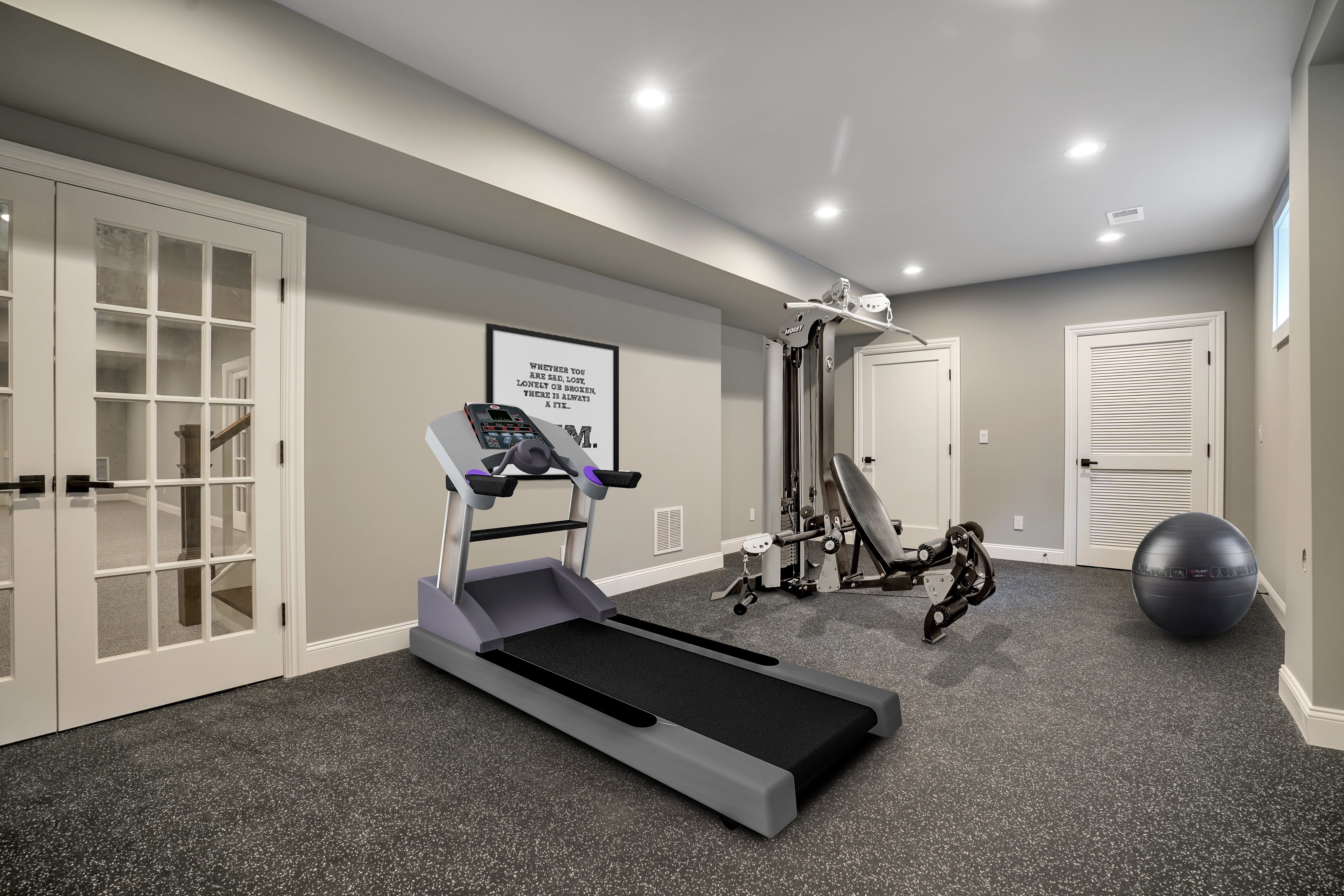 281 Hartshorn Drive Lower Level Exercise Room