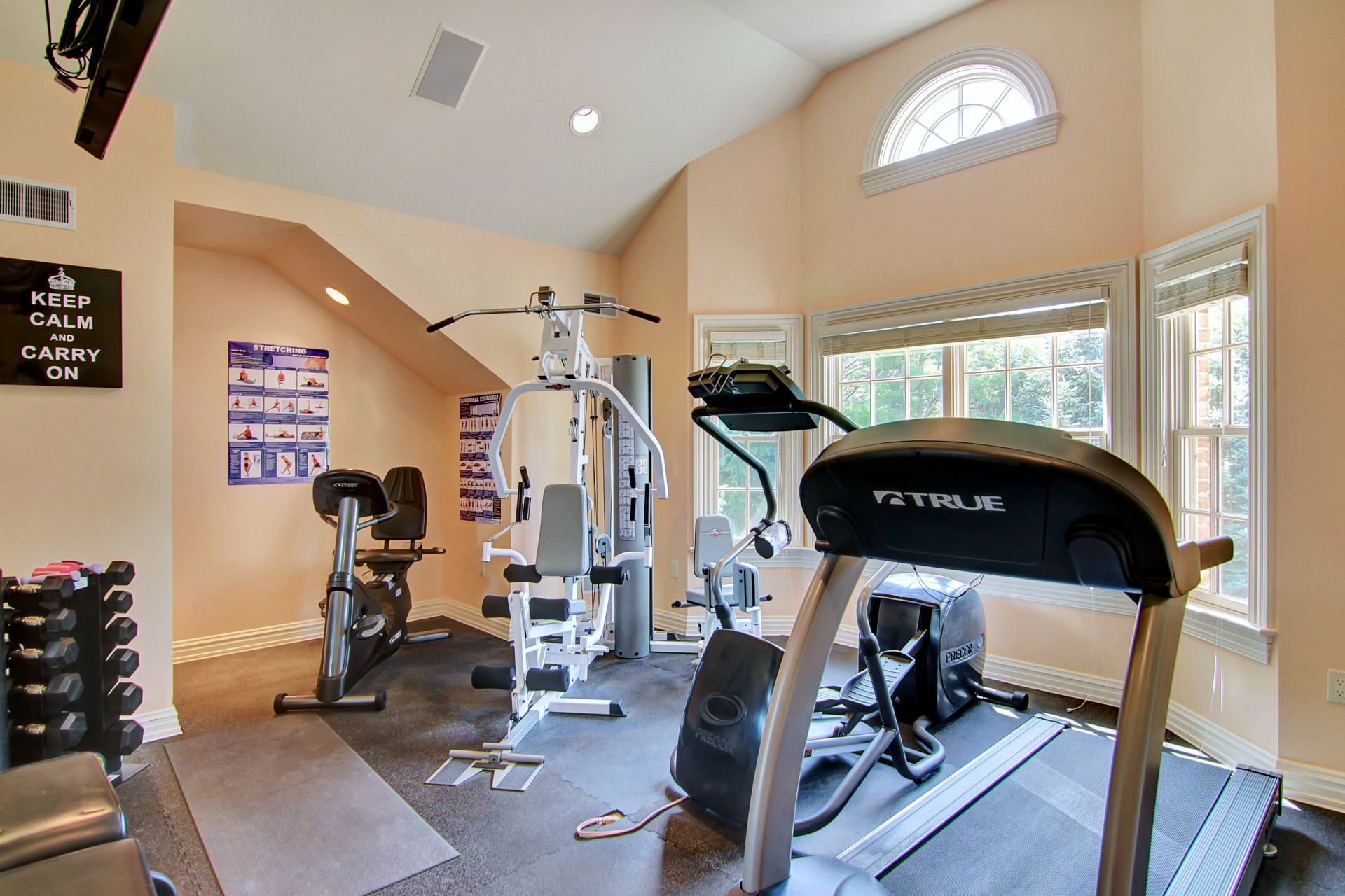 35 Tall Pine Lane Exercise Room