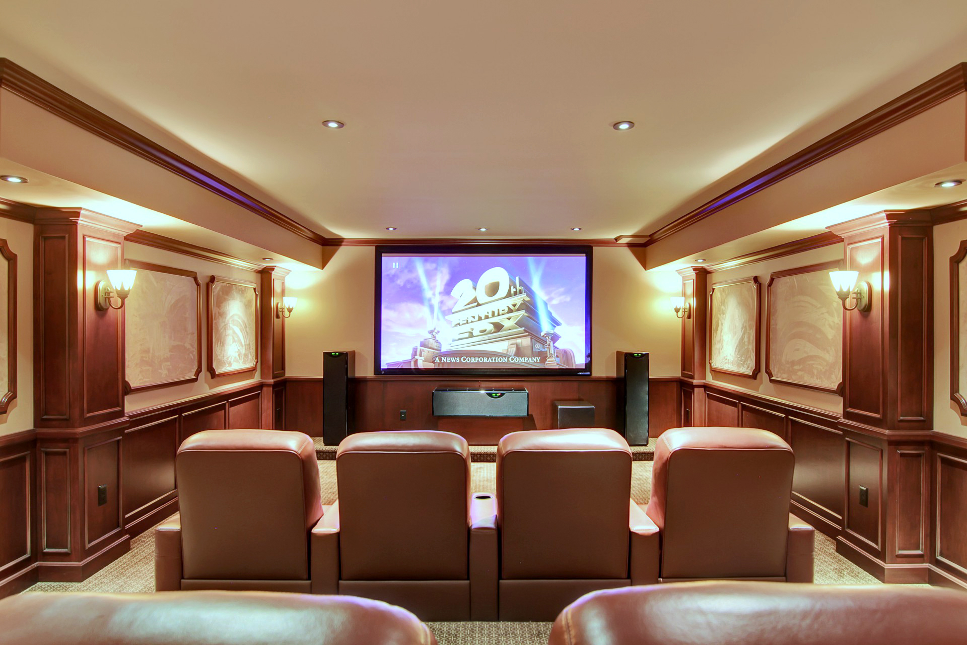 35 Tall Pine Lane Home Theater